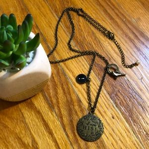 "Jewelry - Jeremiah 1:5 Necklace ""I am His"""